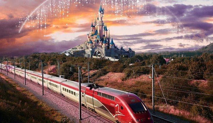 Naar Disneyland® Paris met de trein vanuit Brussel