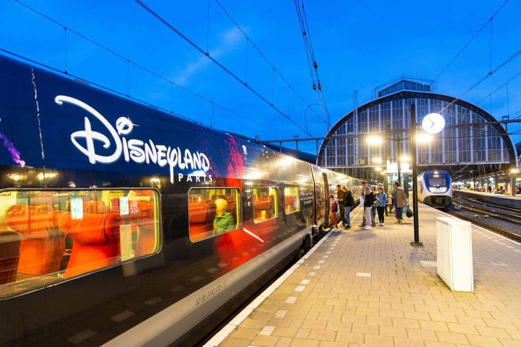 Naar Disneyland® Paris met de trein vanuit Antwerpen