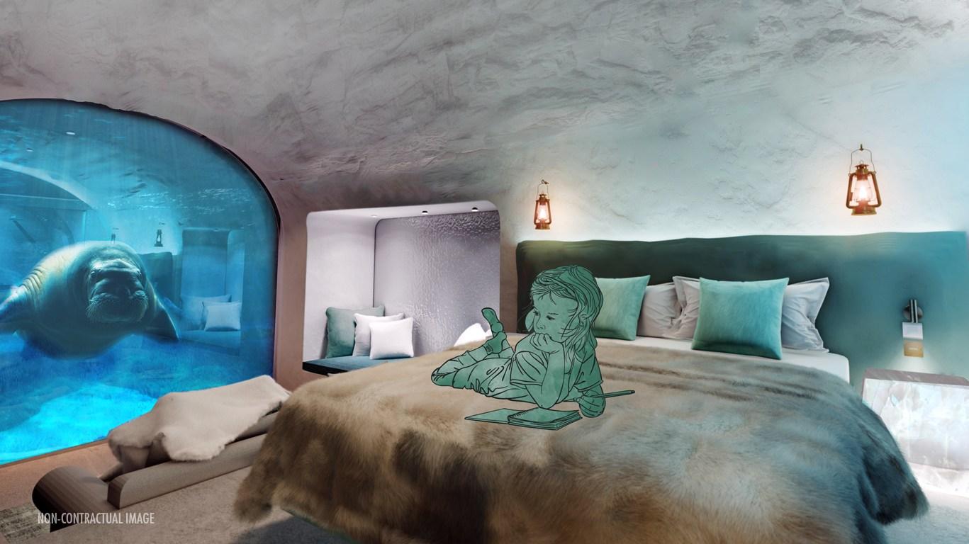 Pairi Daiza krijgt nieuw onderwater hotel